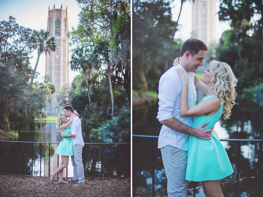 Engagement Session at Bok Tower Gardens, Lake Wales, Florida // www.kristalajara.com