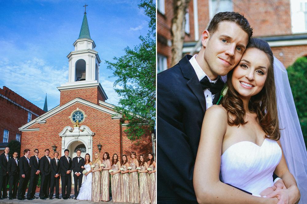 First Presbyterian Church Orlando Wedding // www.kristalajara.com