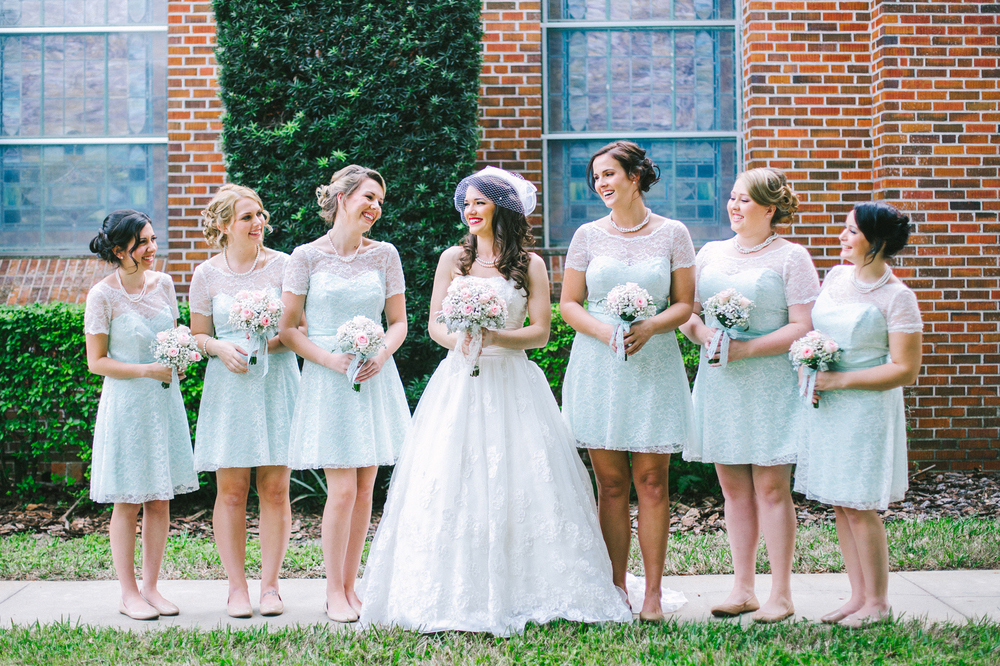 Historic Winter Garden, FL Wedding // www.kristalajara.com