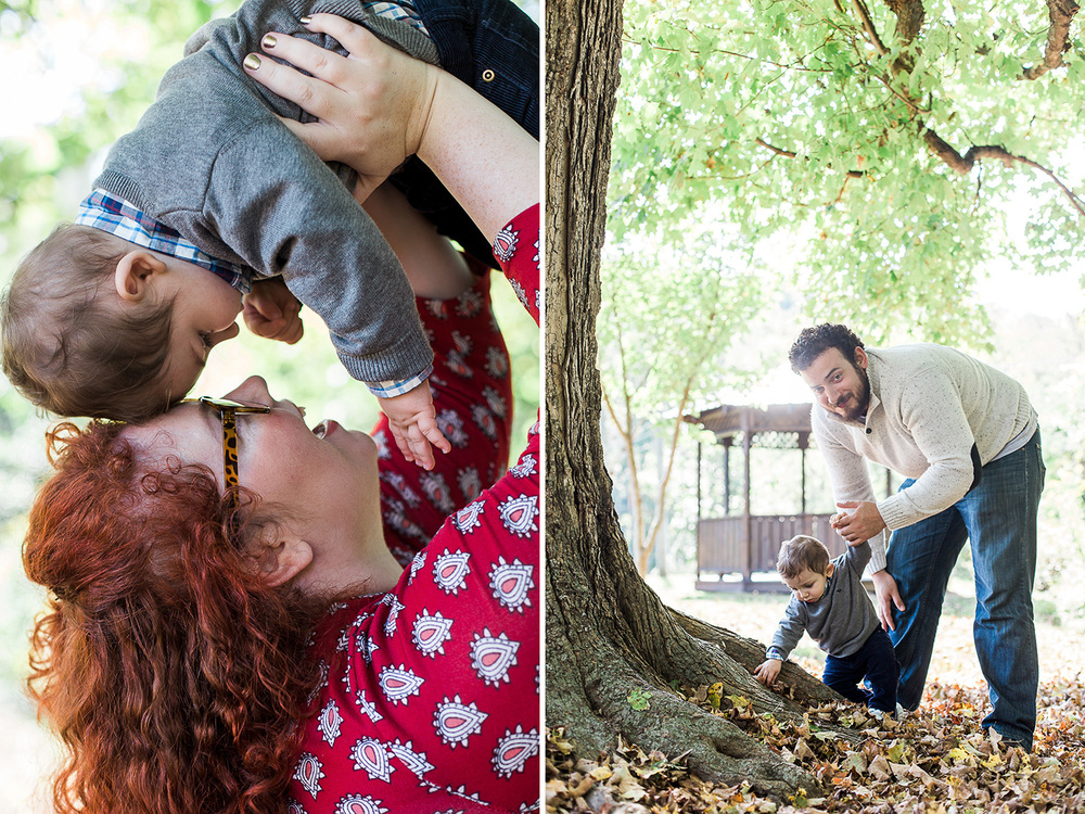 Lifestyle Family Fall Session // www.kristalajara.com