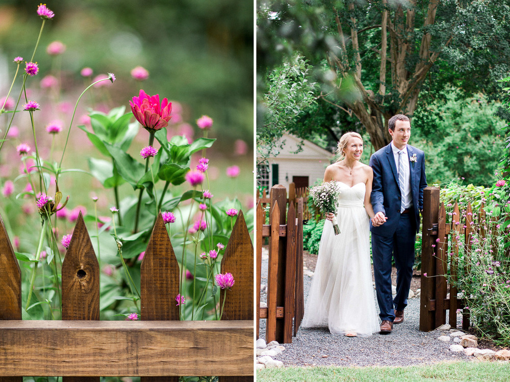 Mordecai House Wedding in Raleigh, NC // www.kristalajara.com