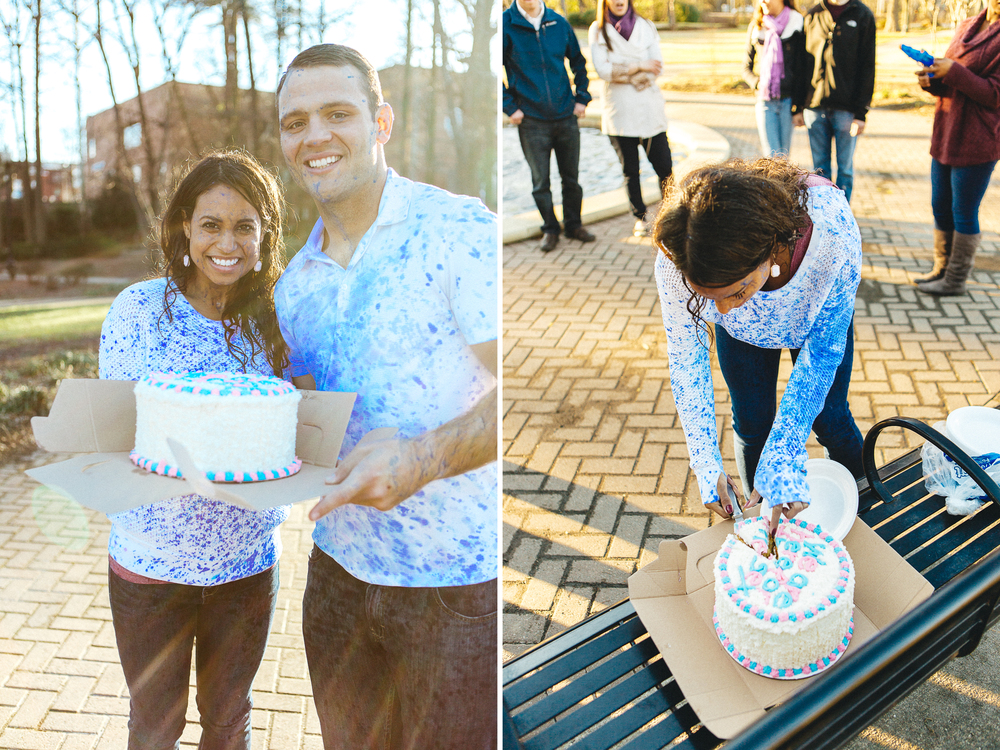 Baby Gender Reveal: It's a boy // www.kristalajara.com