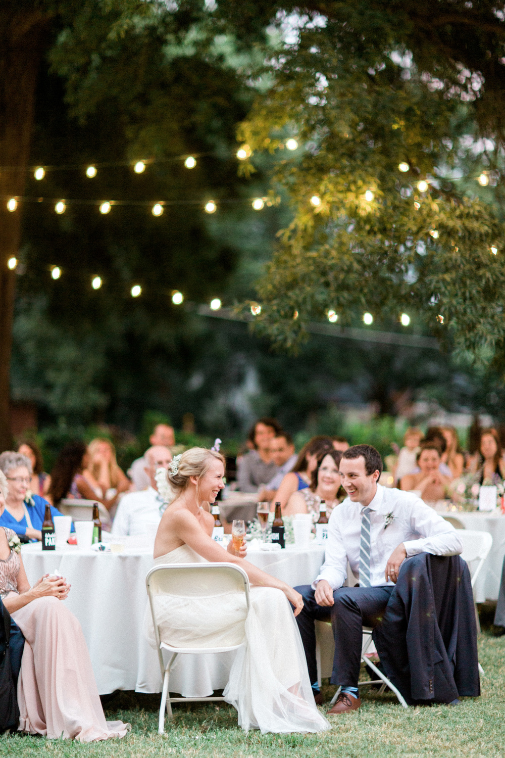 Sarah + John's Whimsical Garden Party Wedding