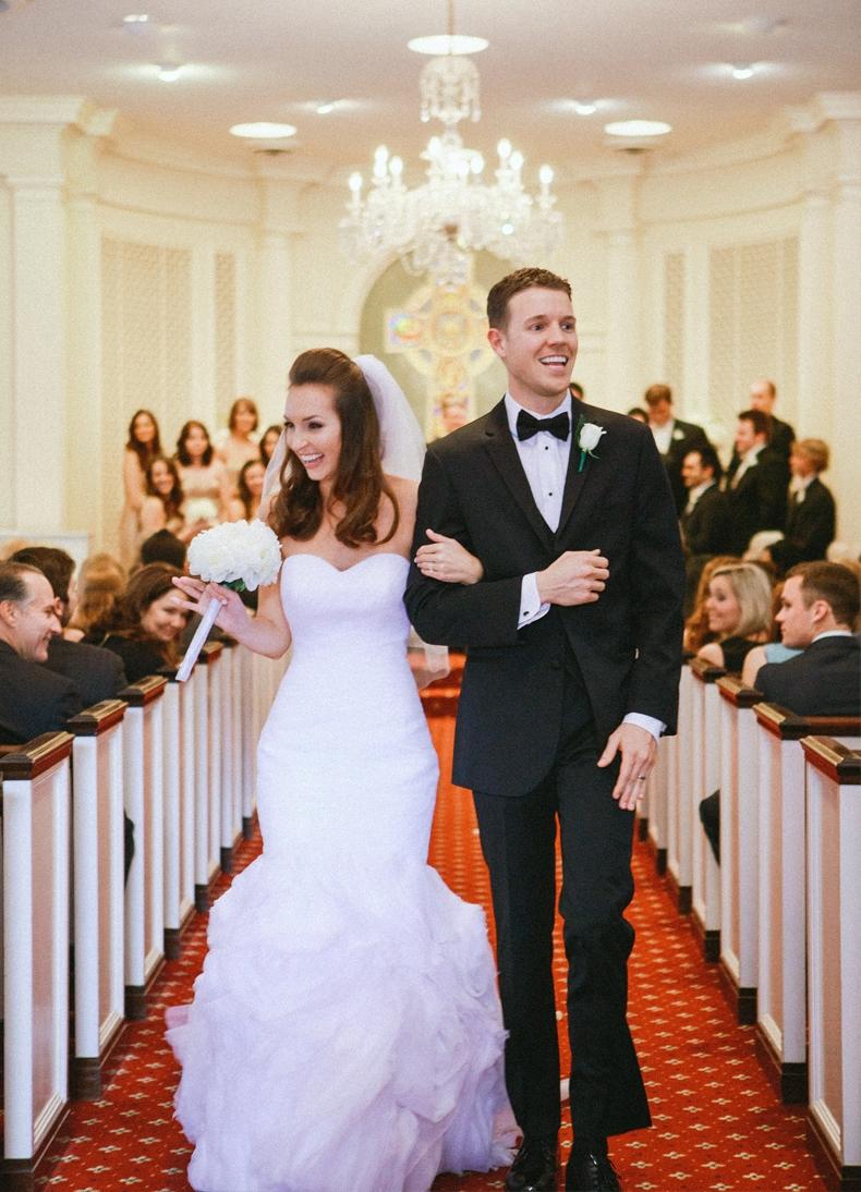 Emma + Colt's Classic Chapel Wedding