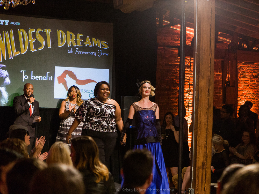 Models for Charity: Wildest Dreams Gala in Raleigh, NC // www.kristalajara.com