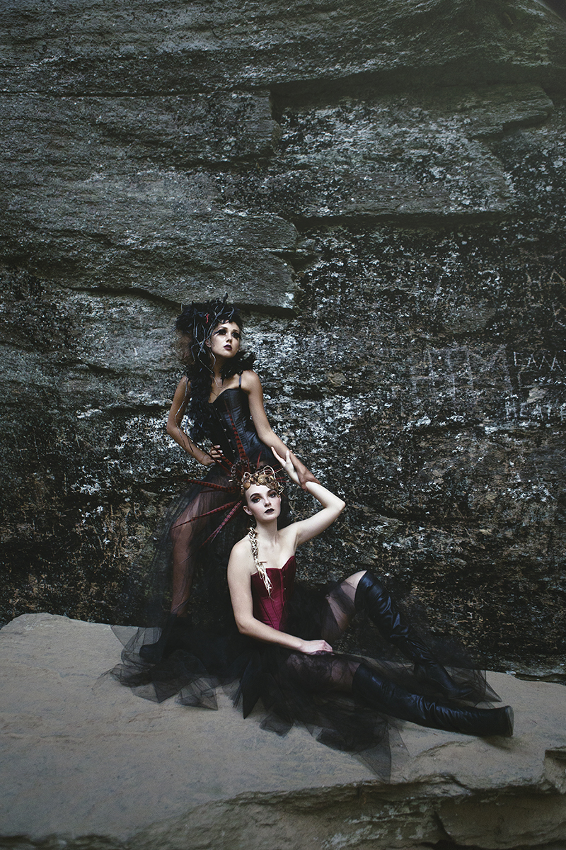 """Wicked Wings"" Editorial by Krista Lajara Photography"