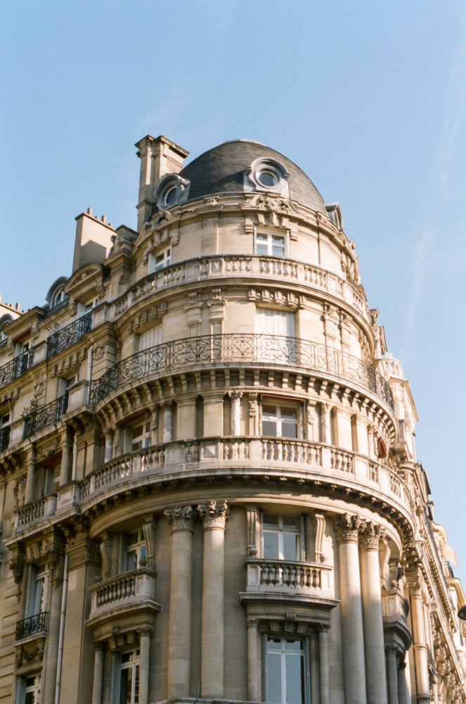 Travel: Paris on 35mm Film // www.kristalajara.com