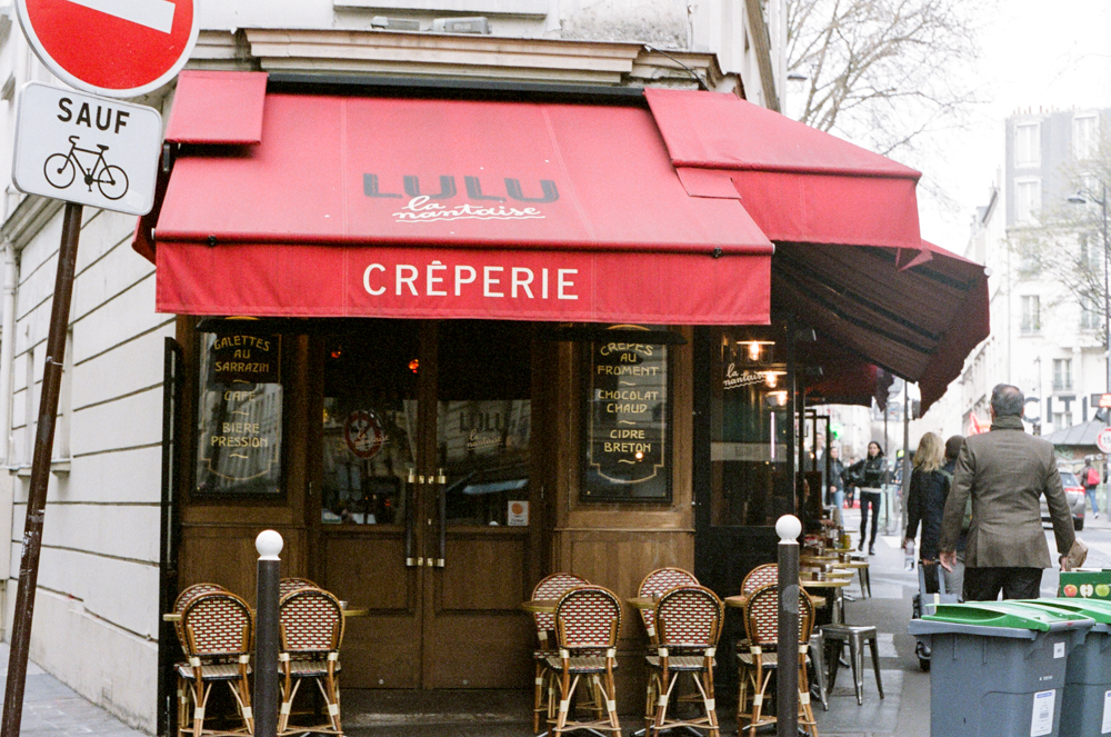 Travel: Paris on 35mm Film // www.kristalajara.com