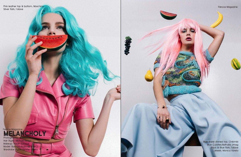 """""""Meloncholy"""" by Krista Lajara // Feroce Magazine"""