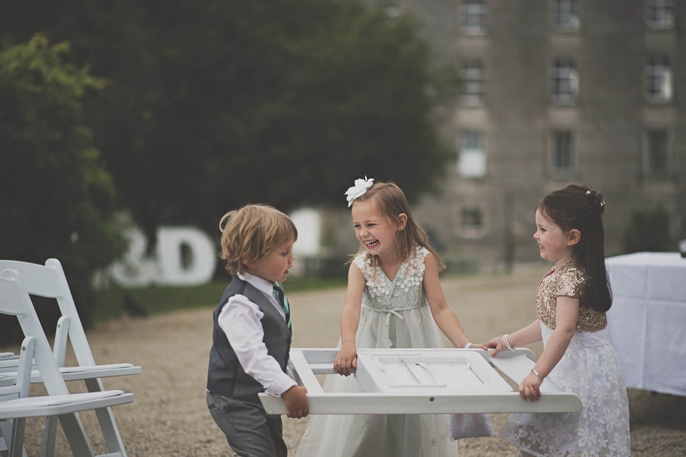 The Millhouse, Slane, children at wedding