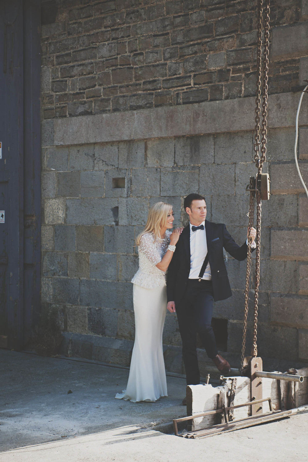 The Millhouse, Slane wedding couple