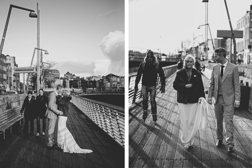 Couple shots Dublin City wedding