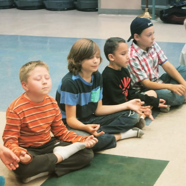 Children Can Meditate! #KidsYoga #schools #ccsd #happinessis #lasvegas