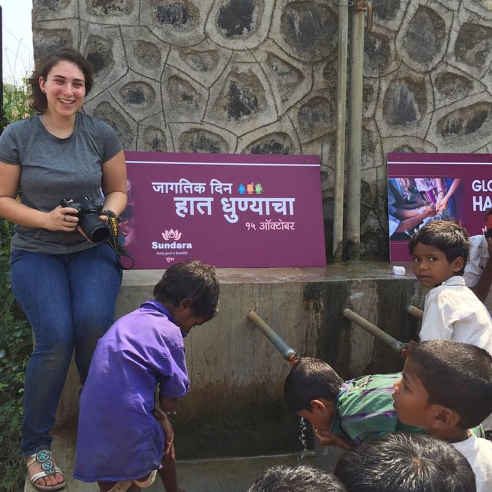 On assignment in rural Maharashtra, India, 2015