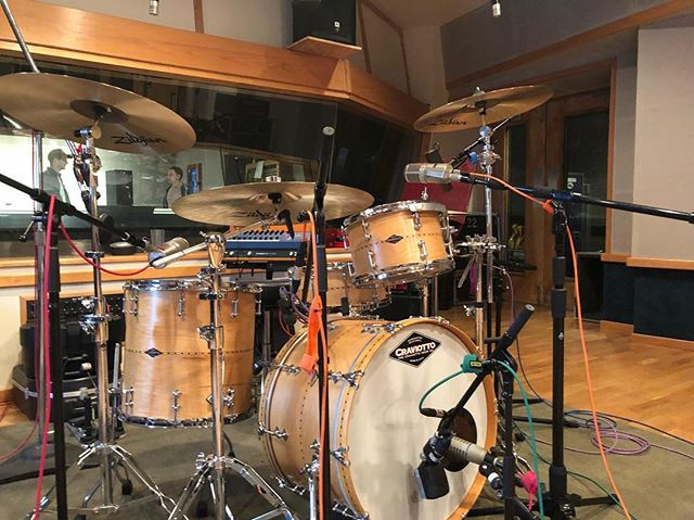 Had the honor of cutting some tracks today in Nashville. Can't wait for everyone to hear them. Used all Zildjian K Sweets... and they sound dreamy