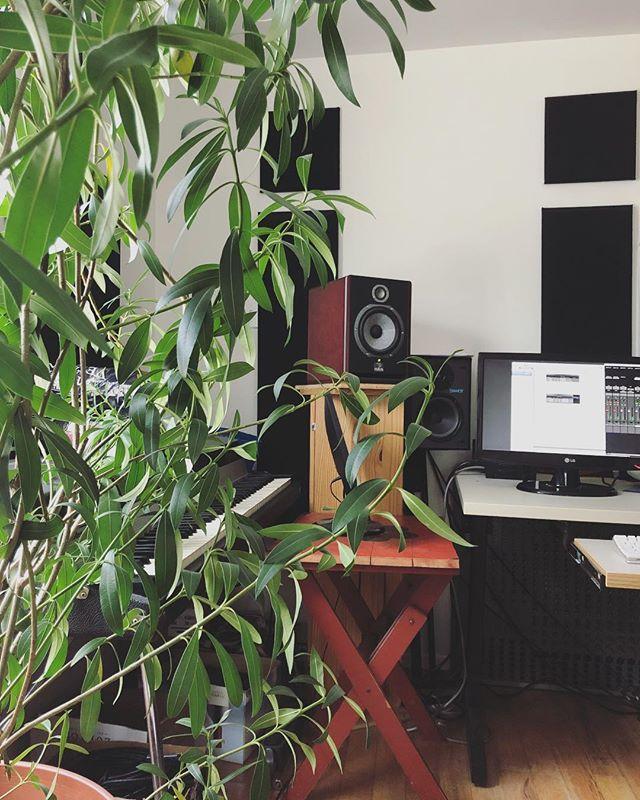 Studio of the day ✍🏻🌱 #singer #songwriter #album #potd #music #pop #studio