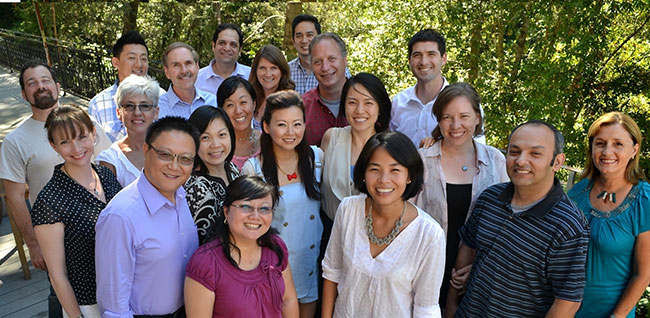 The third Intensive: Saratoga, CA, 2014. Execs came from Oregon state, Chicago, Taiwan and California.