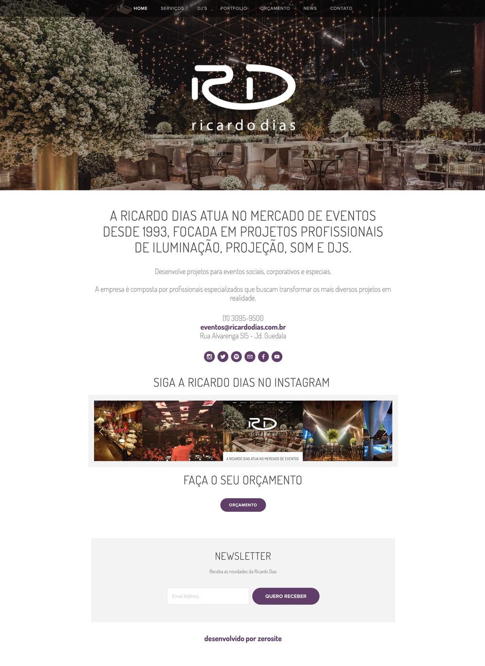Site Ricardo Dias