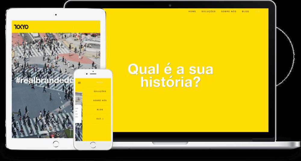 Sites de agencias - Squarespace