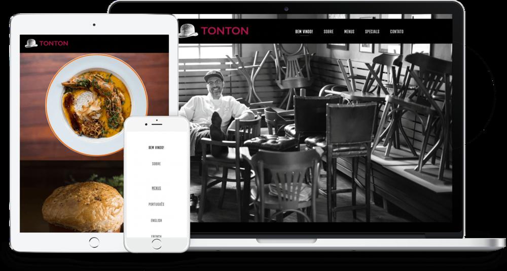 Sites de Restaurantes Squarespace