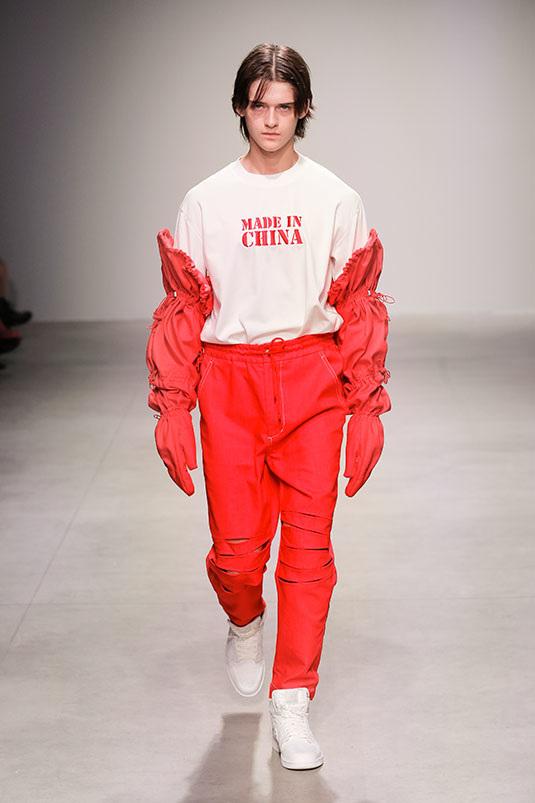 Feng Chen Wang - Spring/Summer 2018