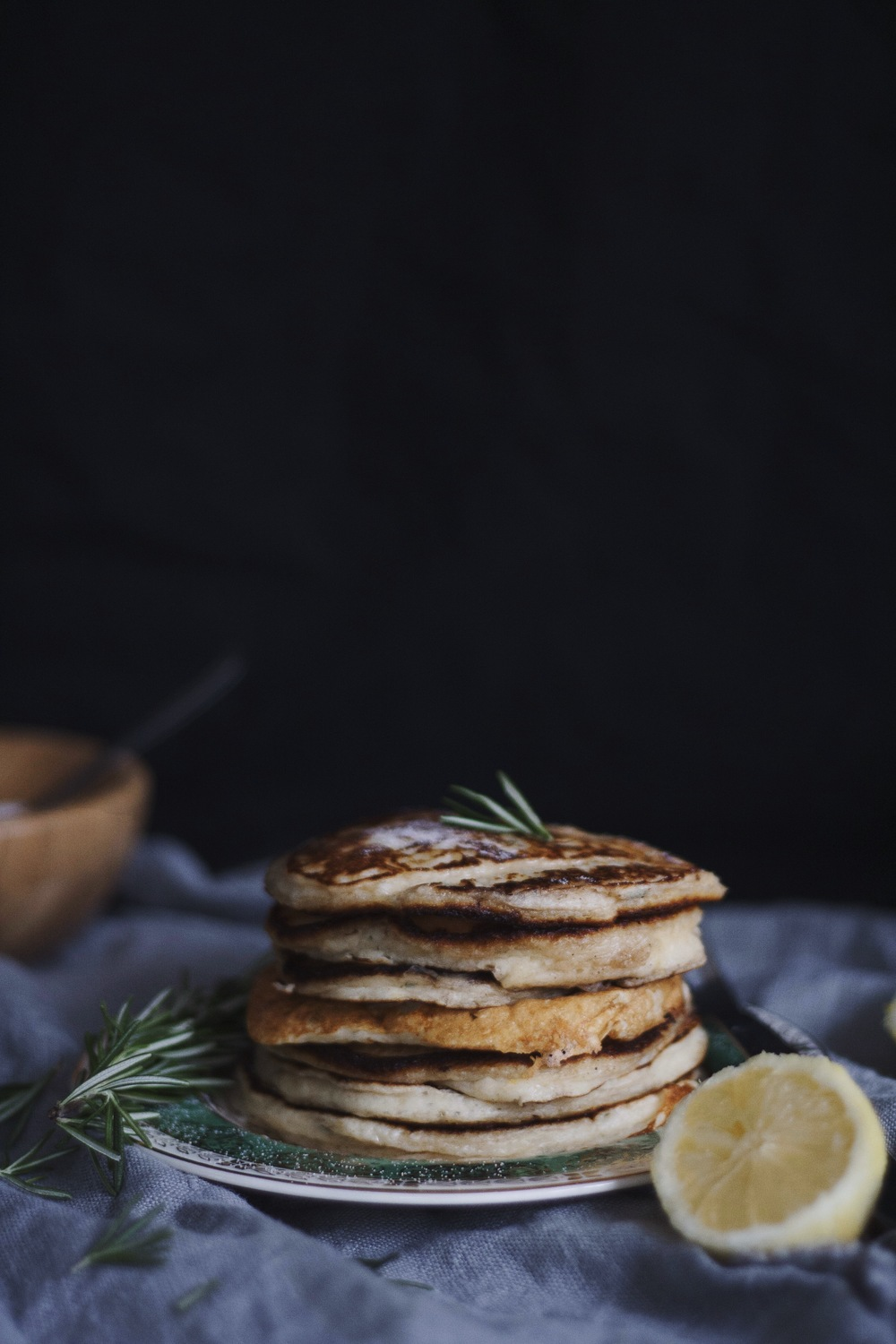 Lemon Rosemary Pancakes 2