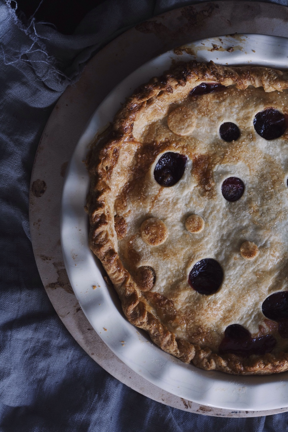 Cherry Almond Pie // The Cake Hunter