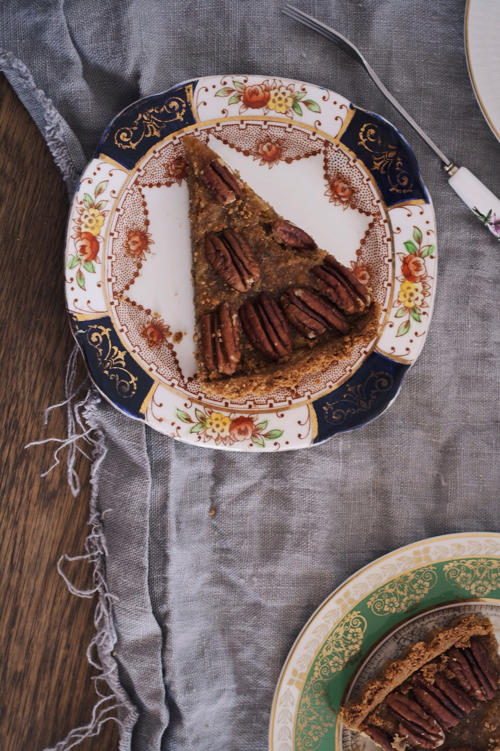 Pear and Pecan Treacle Tart from Homemade Memories // The Cake Hunter