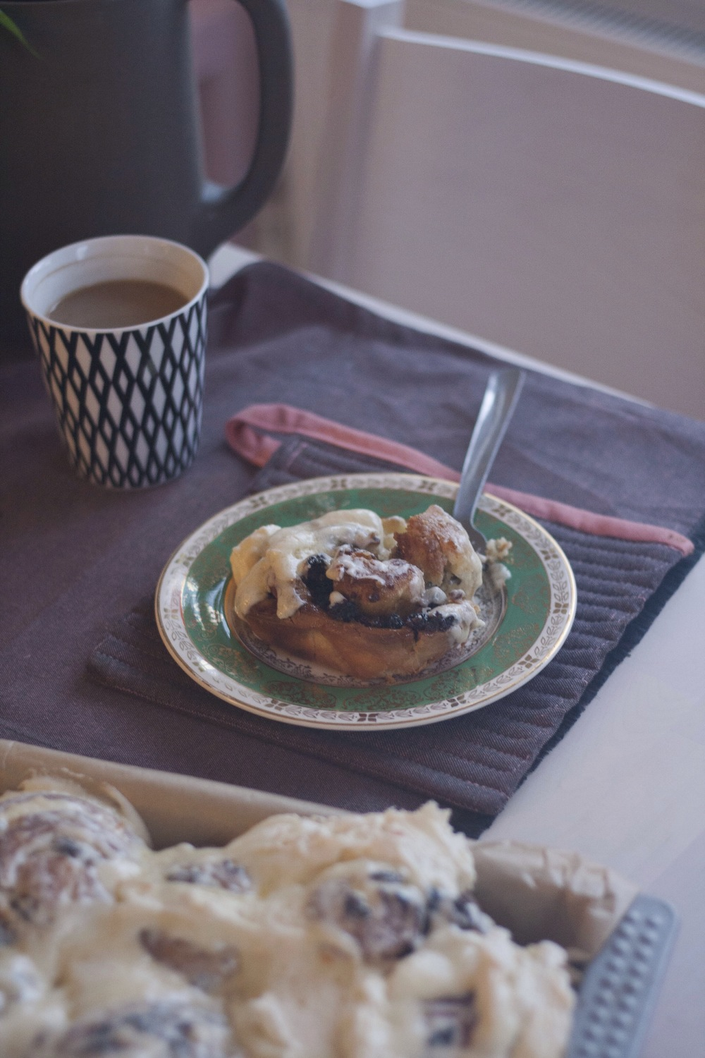 [Overnight] Christmas Pudding Rolls // The Cake Hunter