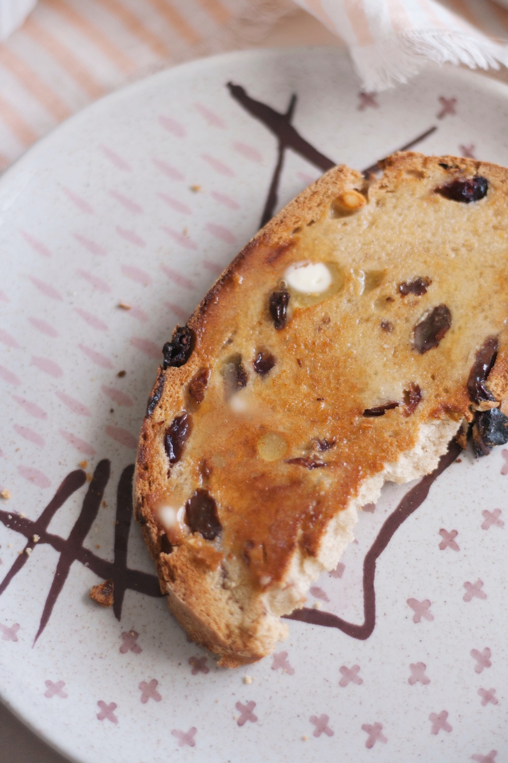 Cranberry, Raisin and Cashew Bread // The Cake Hunter