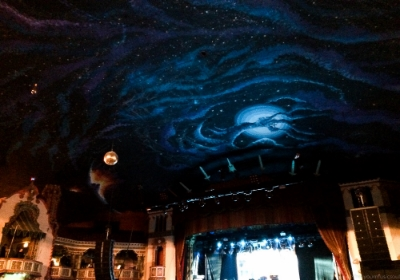 The ceiling at Aragon Ballroom, Uptown, Chicago