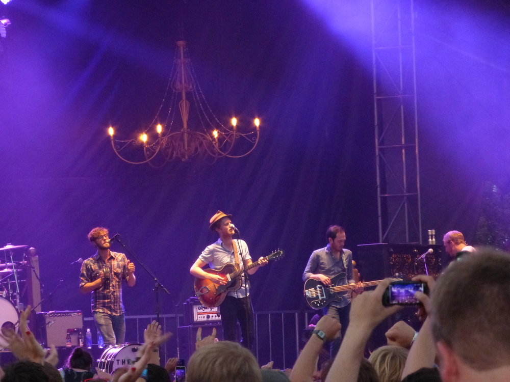 The Lumineers at Lolla - circa 2013