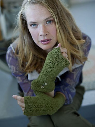 Marketa Mitts for Knitscene Winter 2012
