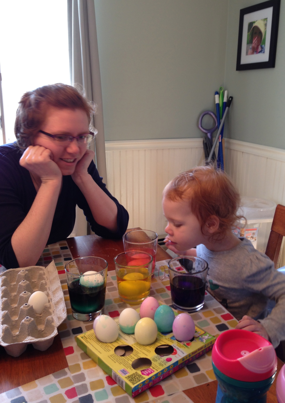 Dyeing Eggs - Ms. Cleaver Chronicles
