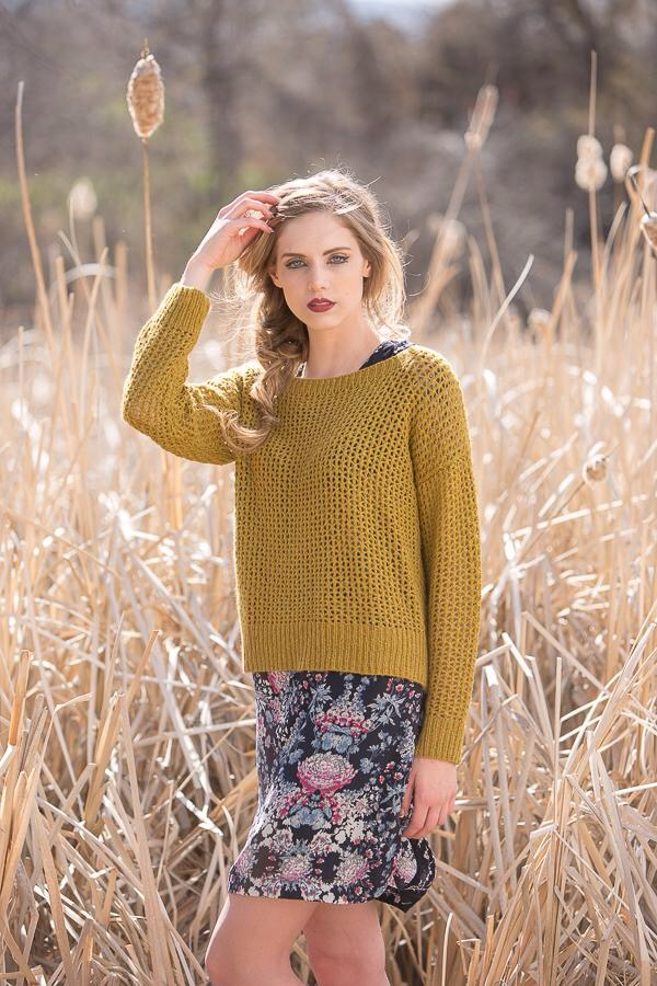 Cormac Sweater by Leah B. Thibault, KnitScene Fall 2015