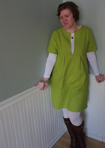 School House Tunic Dress by Ms. Cleaver