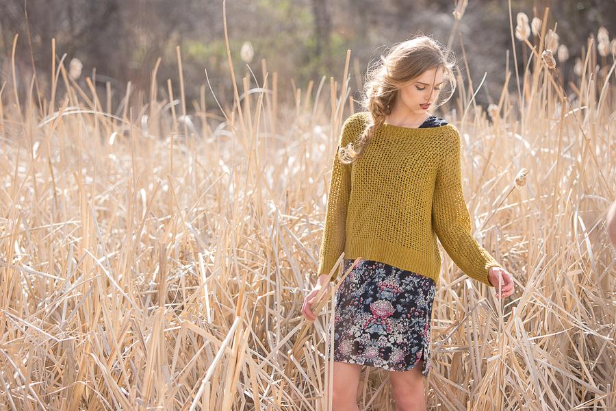 Cormac Sweater: Design by Leah B. Thibault, Photo Knitscene/Harper Point