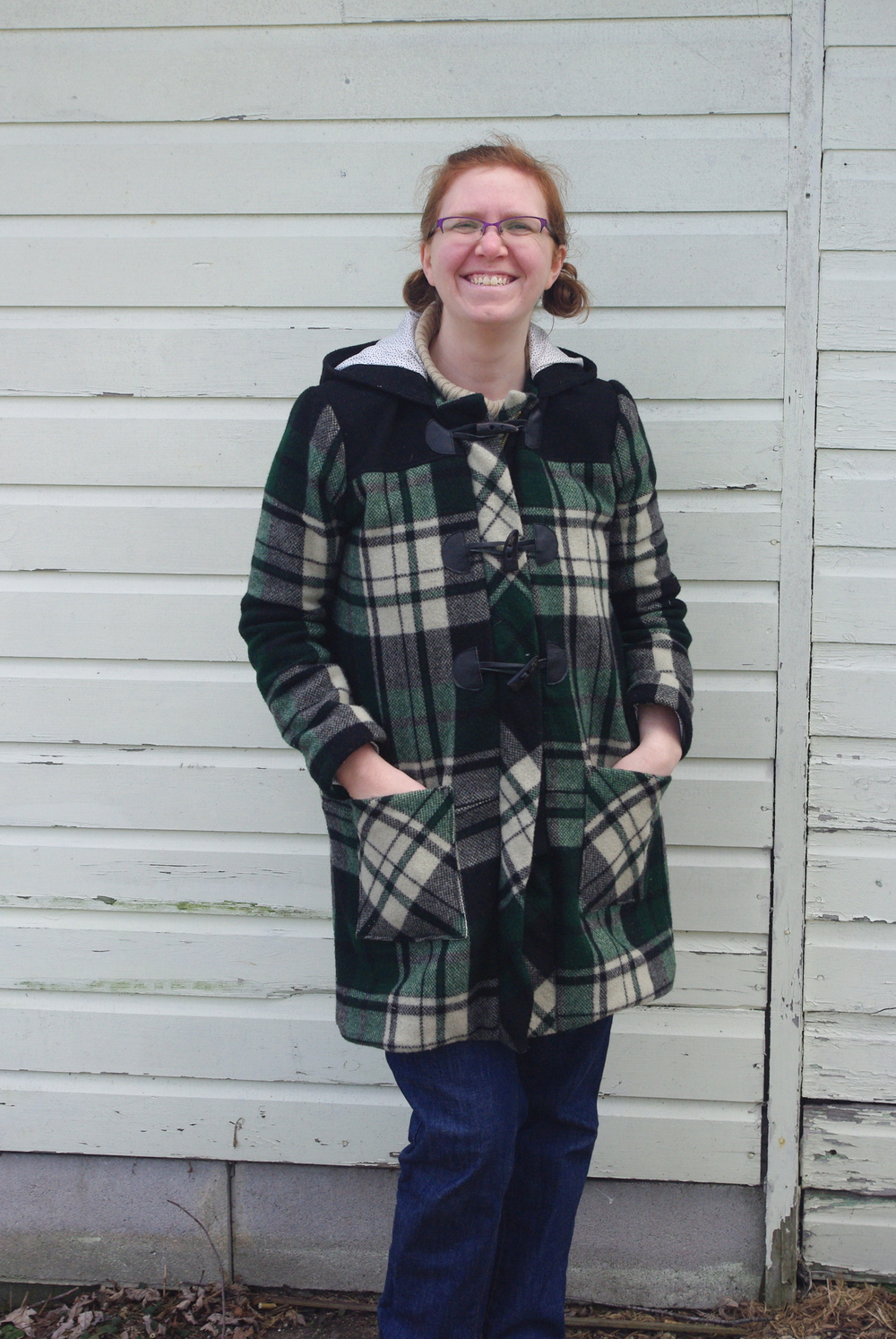 Cascade Duffle Coat sewn by Ms. Cleaver