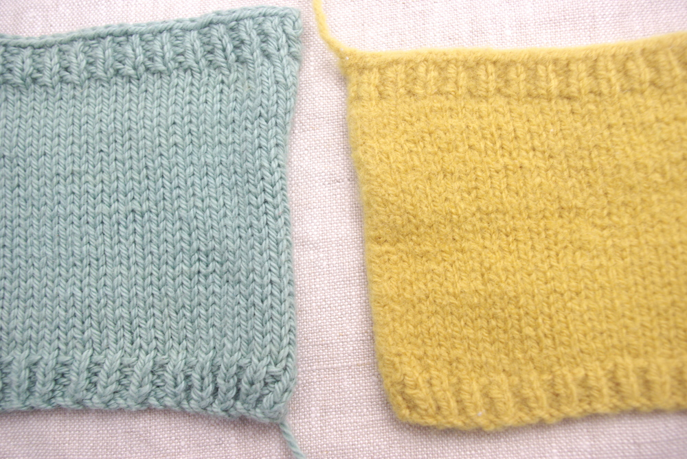 Knitting with Cotton, a tutorial by Ms. Cleaver