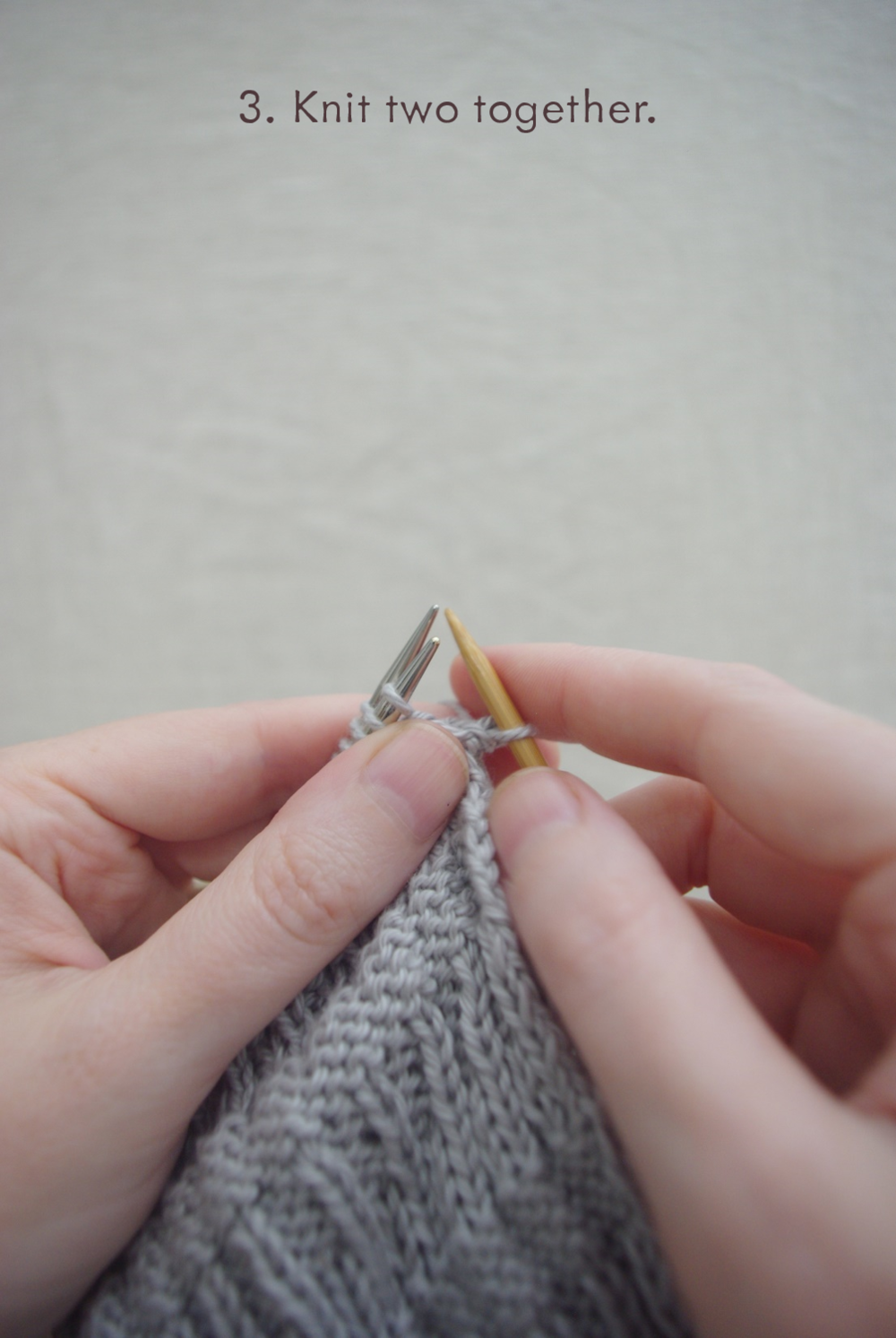 Three Needle Bind Off Tutorial - Ms .Cleaver Creations