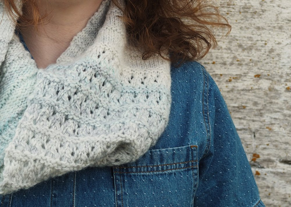 West Branch Cowl by Leah B. Thibault
