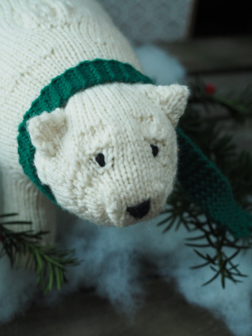 Bradac Polar Bear design by Leah B. Thibault