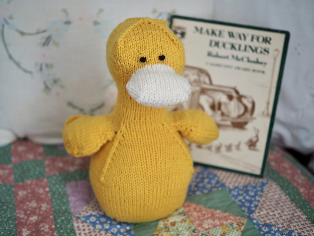 Domenic Duck by Leah B. Thibault
