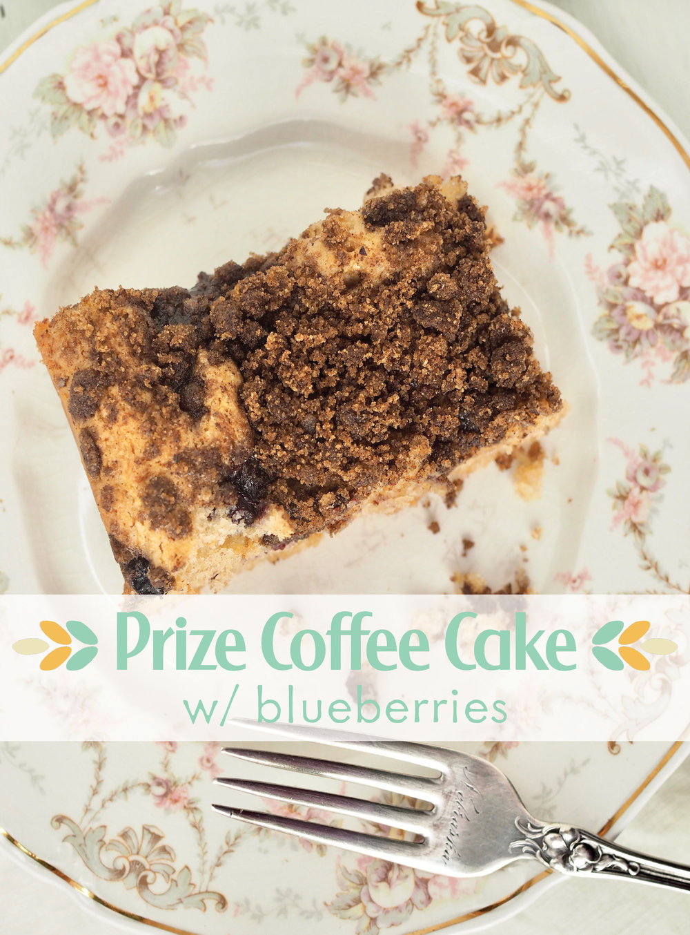Prize Coffee Cake with Blueberries