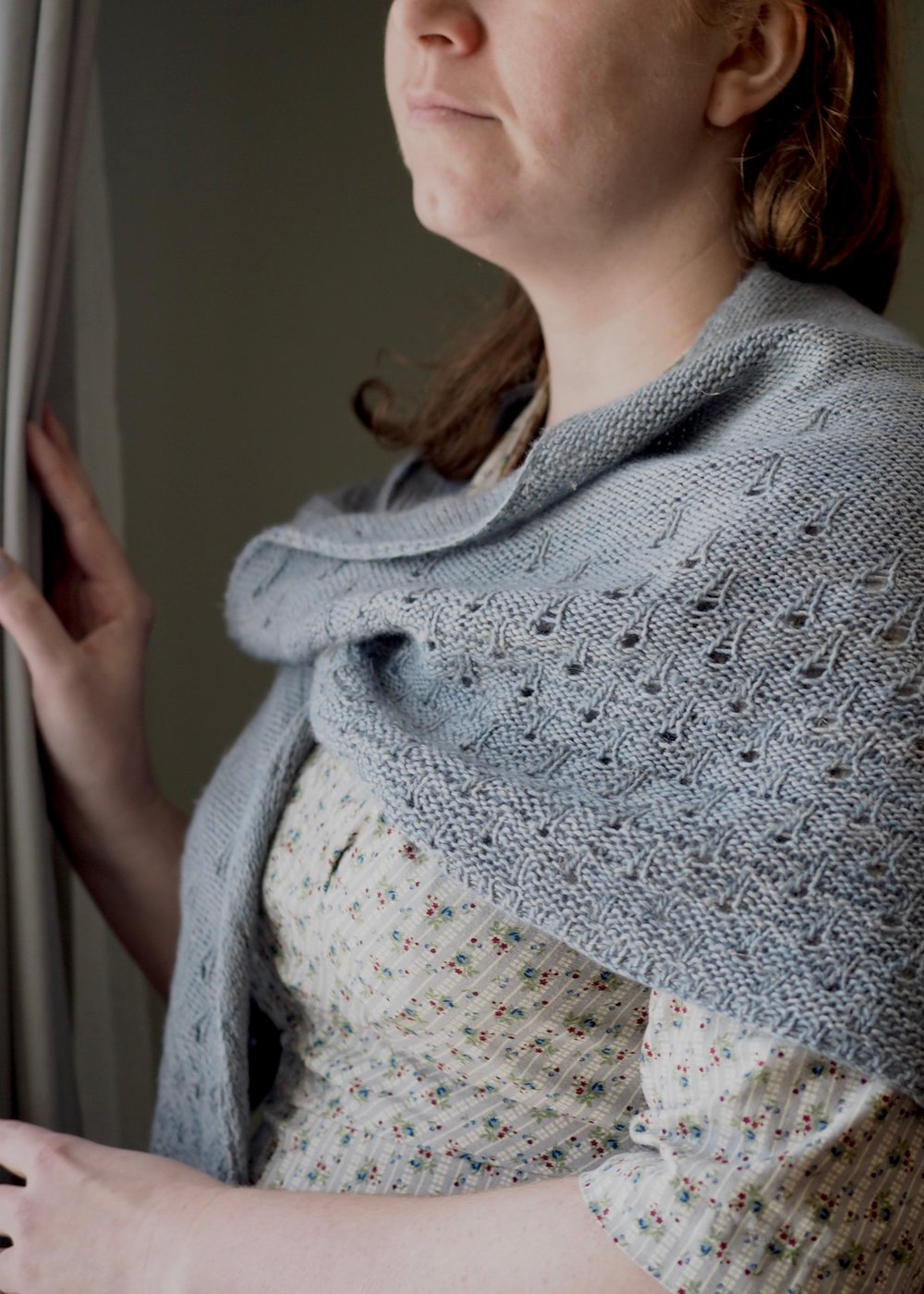 Summer Rain Shawl for Taproot Magazine