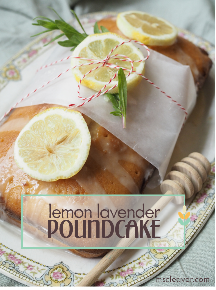 Lemon Lavender Poundcake Recipe