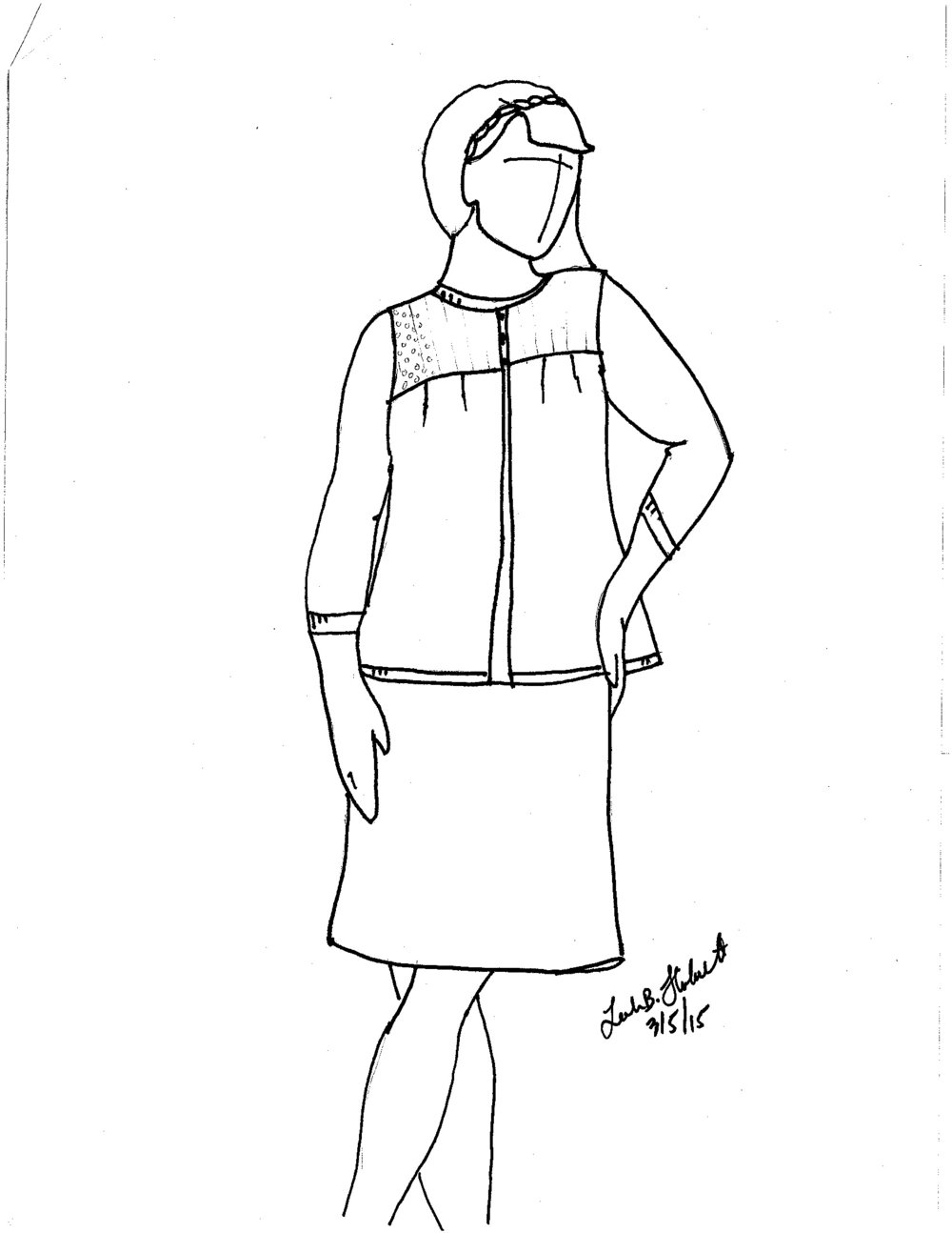 Prairie Wife Sketch