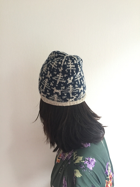 Woodland hat knit by elainemaxseb