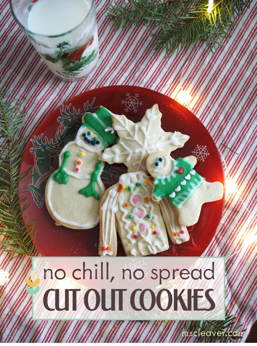 No chill no spread cut out cookies