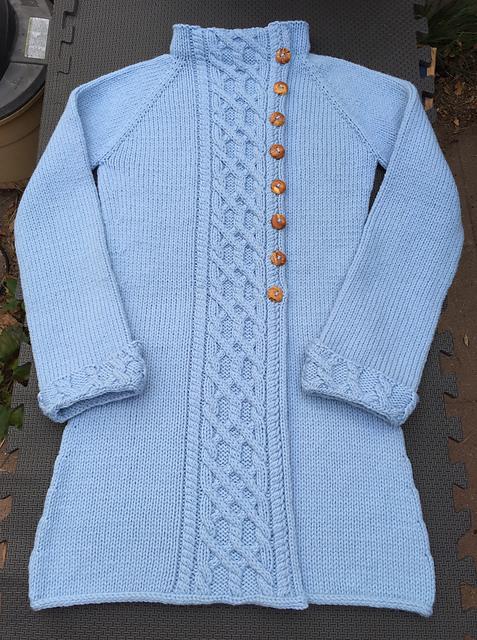 Willamette Coat - knit by TIcheek